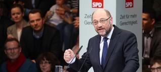 Martin Schulz und die Gerechtigkeit