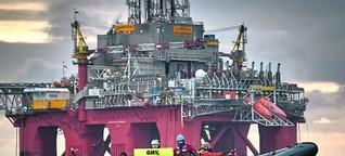Greenpeace: OMV-Einsatz in Norwegen gefährdet Arktis!