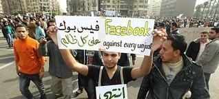 Soziale Medien und die Arabellion: Der schwindende Mythos der Facebook-Revolution