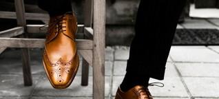 Eine Frage der Technik: Was hilft bei glatten Schuhsohlen?