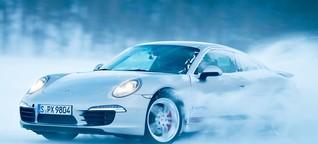 Porsche Driving Experience Ivalo: Stars on Ice - 20 Grad Minus, 400 PS und ein zugefrorener See in Finnland. GQ hat den Ice-Force-Test gemacht