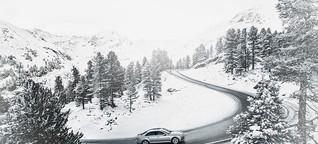 GQ testet den Audi A4 auf seine Wintertauglichkeit
