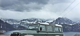Land Rover Defender: GQ auf Abschiedstour mit dem Geländegänger