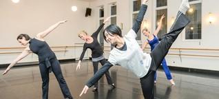 Die Tanzschul-Inhaberin Linda Calder lebt fürs Tanzen