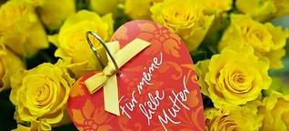 Ein Blumenstrauß zum Muttertag: Was Mütter sich wirklich wünschen