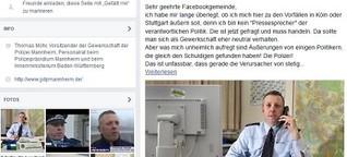 Mannheimer Polizeigewerkschafter zu Silvester in Köln: Riesige Welle der Zustimmung
