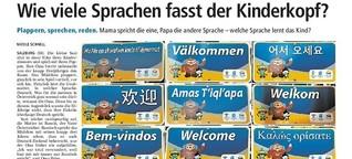 Wie viele Sprachen können Kinder zeitgleich lernen?