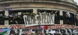 Paris einen Monat danach
