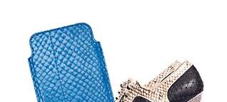 Vom Abfall zur Avantgarde:  Leder aus Lachshaut