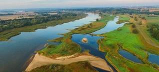 Inventur der Seen und Flüsse