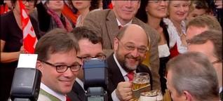 Aschermittwoch: Schulz füllt das Bierzelt