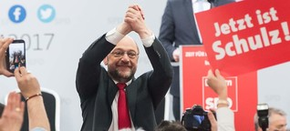 Schulz wählt bewährte Schiene: Im Festzelt nichts Neues