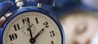 Der Wecker klingelt früh für Schüler