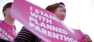 Planned Parenthood: Schläge in den Bauch