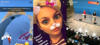 Da geht noch mehr: So zeigen sich deutsche Politiker*innen auf Snapchat