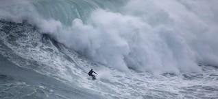 Steudtner surft um Weltrekord: Das gefährliche Leben für die perfekte Welle