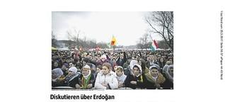 Diskutieren über Erdogan
