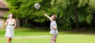 Eltern müssen keine Sportcracks sein, um Kinder für Sport zu motivieren