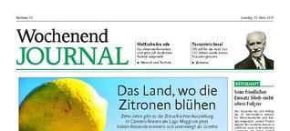 Das Land, wo die Zitronen blühen