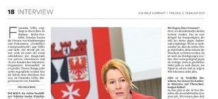 """Franziska Giffey: """"Es muss klare Grenzen geben"""""""
