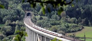 Auf diesen Routen ist der Zug schneller als das Flugzeug