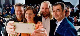 Spitzenkandidatensuche der Grünen: Drei Männer legen sich ins Zeug