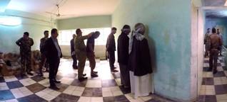 360°-Reportage vom Kampf gegen den IS: Wer sind die Kämpfer im Irak?