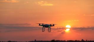 Modellflieger und Drohne als Risiko