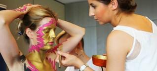 Fashion Week Berlin: Die nackte Haut als Kleidungsstück