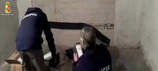 Spionagezentrale in Rom ausgehoben