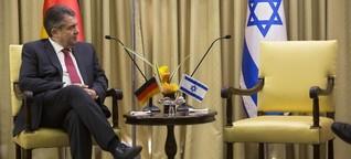 Gabriel in Israel - Ein Antrittsbesuch ist kein Flashmob
