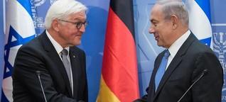 """Steinmeier bekräftigt """"wertvolle Partnerschaft"""" mit Israel"""