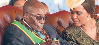 Müder Mugabe warnt vorm Einschlafen