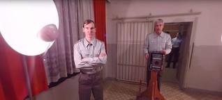 """VR-Projekt: """"Was wollten Sie in Berlin?!"""" - als Häftling im Stasi-Gefängnis Hohenschönhausen"""