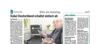 Kabel Deutschland schaltet einfach ab