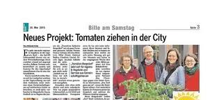 Neues Projekt: Tomaten ziehen in der City