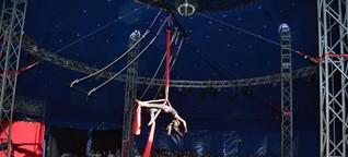 Kleine Artisten sind im Zirkus Giovanni schon ganz groß