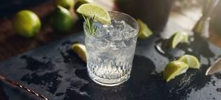 Gin: Ein glasklarer Hype - Falstaff