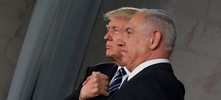Donald Trump in Israel: Feindbild Iran