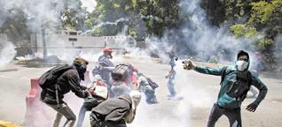 Caracas: Wir unterrichten mitten im Chaos