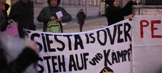 Studentischer Protest aus dem Exil gegen die Sparpolitik