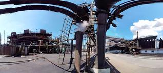 360°-Video: Ein Kohlearbeiter gerät zwischen die Fronten