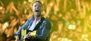 Coldplay in Frankfurt: Brezeln für vier Euro