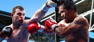 Boxen: Manny Pacquiao verliert WM-Kampf gegen Jeff Horn