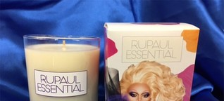 RuPaul's candle will fill your home with the scent of Charisma, Uniqueness, Nerve, and Talent
