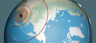So weit fliegen Nordkoreas Raketen