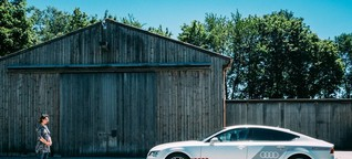 Audi A7 piloted driving im Test - Audi Blog