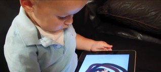 Tippen, wischen, krabbeln: Was taugen Apps für Kleinkinder?