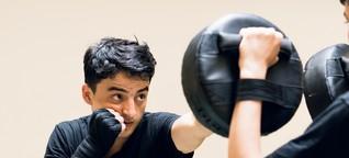 Afghanistan, Sachertorte & Kickboxen