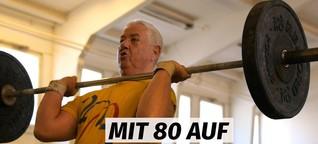 80-jähriger Berliner möchte in Gewichtheben einen neuen Weltrekord aufstellen